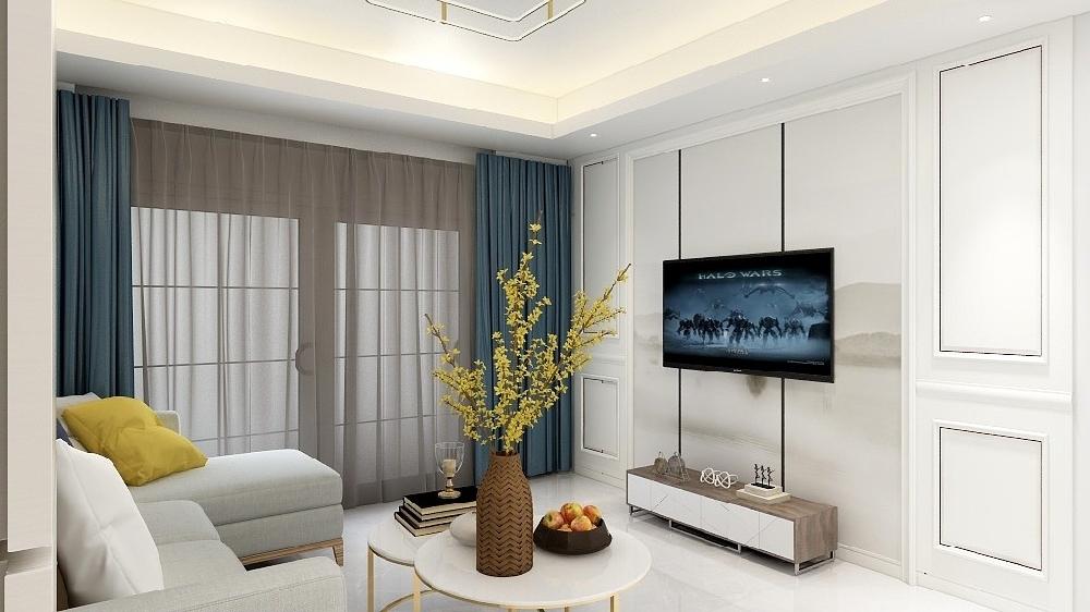60平米兩居室小戶型設計裝修16126250