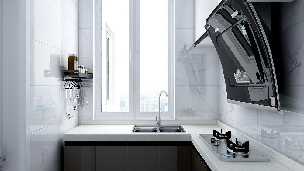 60平米兩居室小戶型設計裝修16127647