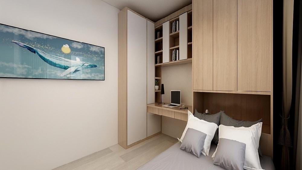 60平米兩居室小戶型設計裝修16126252
