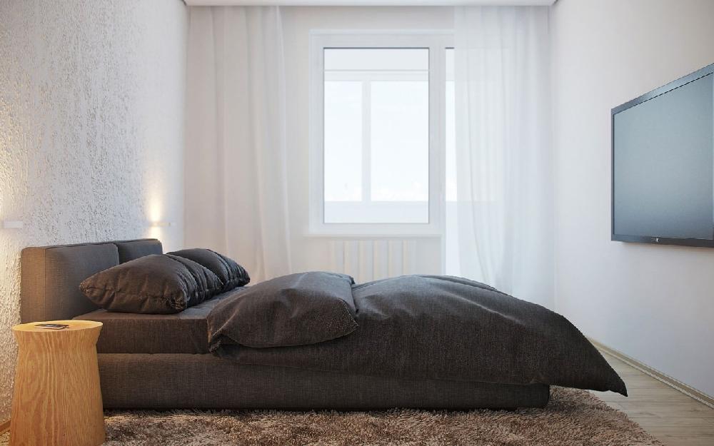 72m2一居室,質樸的印象空間16362485
