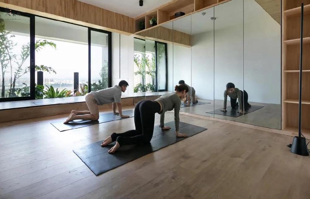 130平的新房,承載著女主人的瑜伽夢16571906