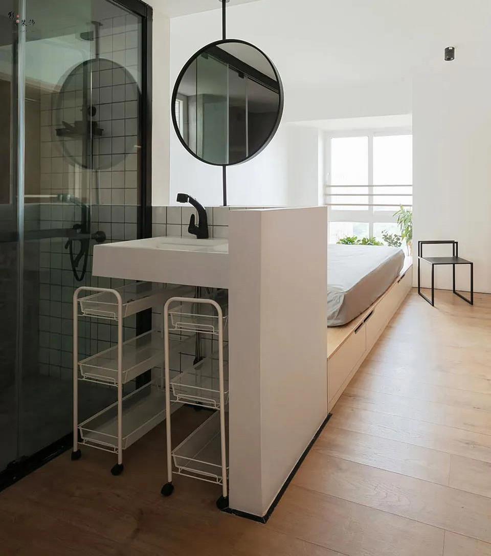 130平的新房,承載著女主人的瑜伽夢16571909