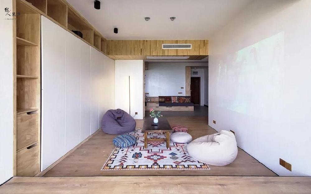130平的新房,承載著女主人的瑜伽夢16571902