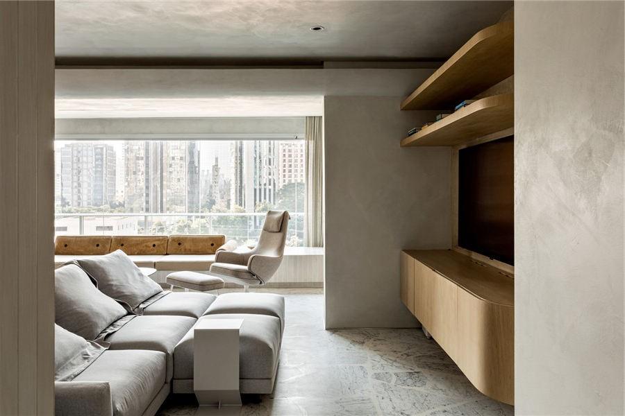 新作,陽臺這樣設計讓客廳增大一倍!16609123