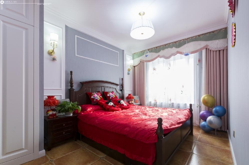 軒和苑110平米美式田園風格裝修16753933