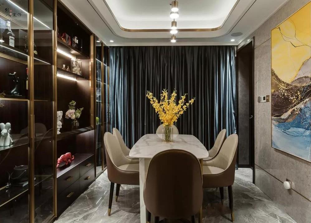 120平时尚轻奢四室 灵感源于餐厅酒柜16876726
