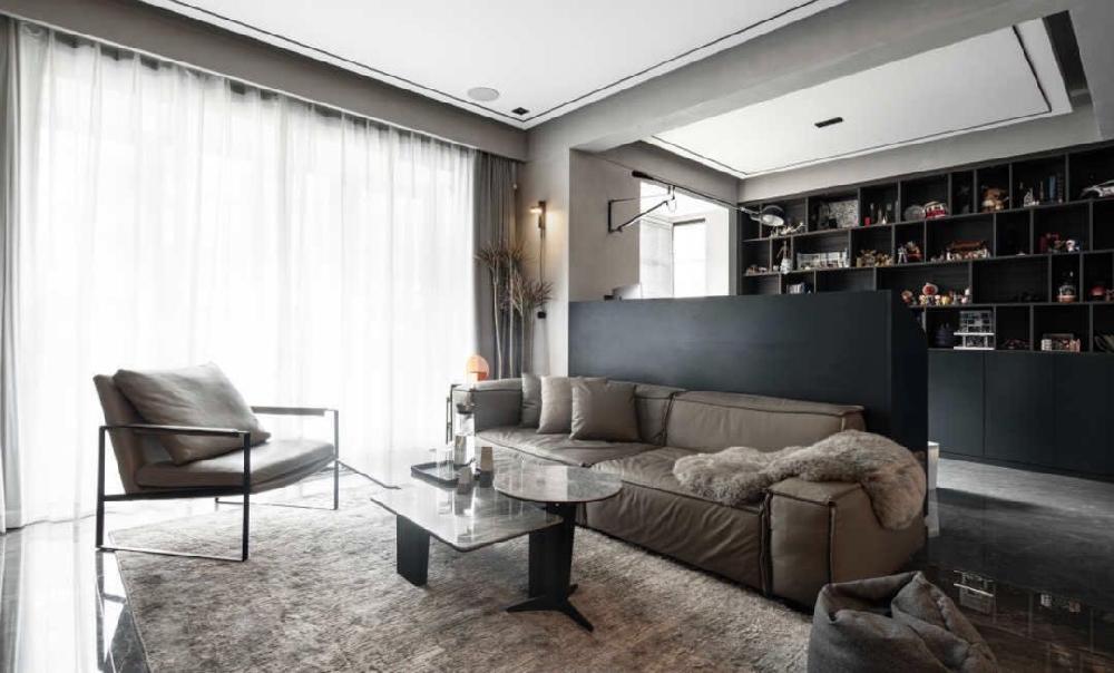 130平現代極簡風,打造居家型工作室16968753