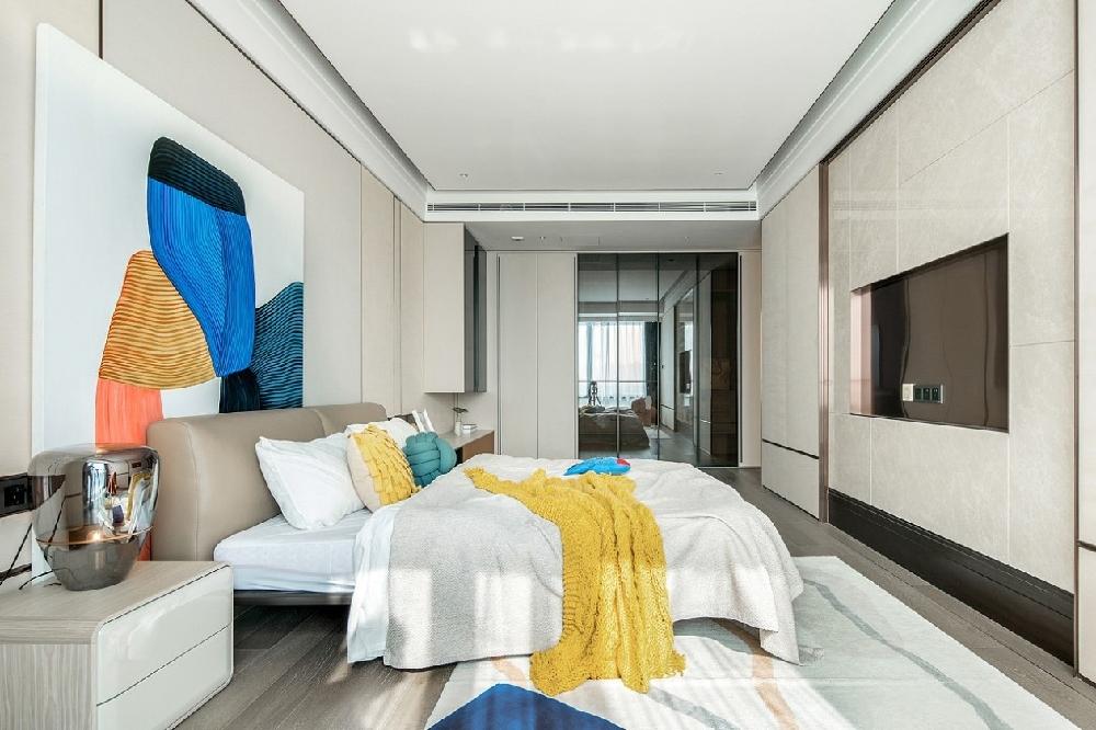 港式輕奢風,275㎡大平層室內設計!16971685