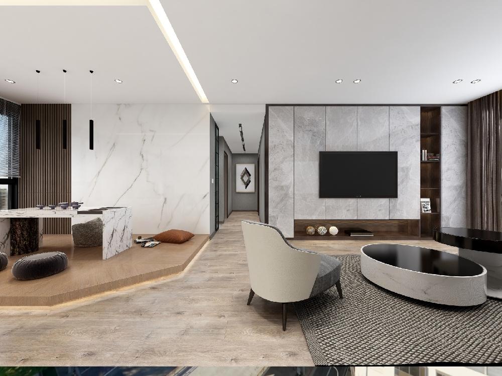 现代简约风的房子装好了,颜值也能高到爆表17080293
