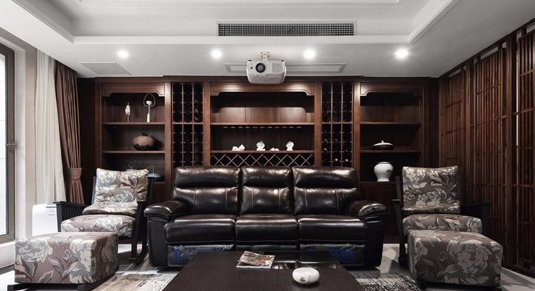 200平米新中式別墅裝修,復古中展露新意17101691