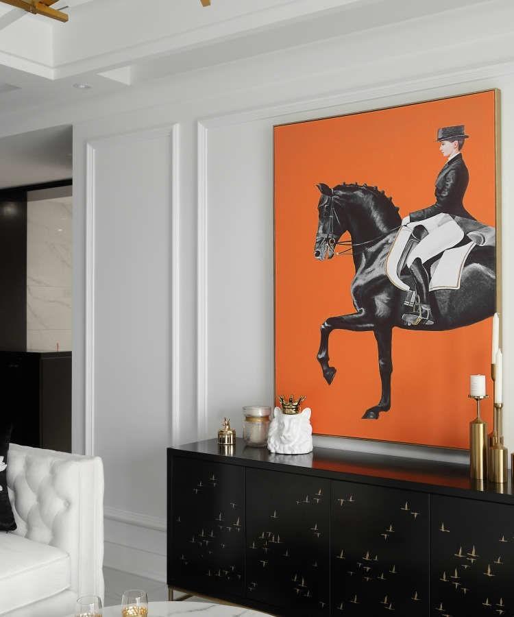 140m²现代风格设计,自然流露的优雅范17155479