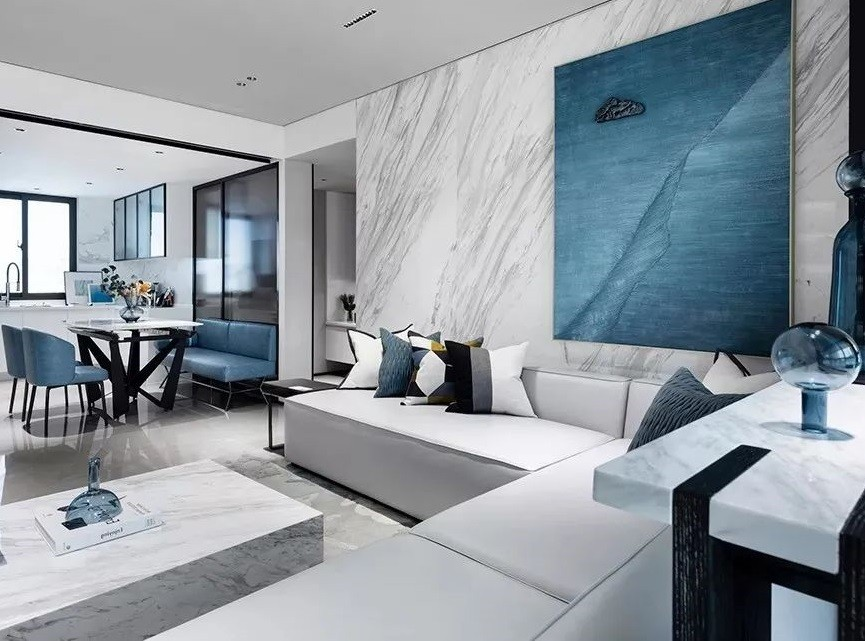 现代简约三室 无电视墙设计 高级优雅,17319117