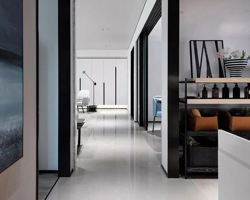 现代简约三室 无电视墙设计 高级优雅,17319118