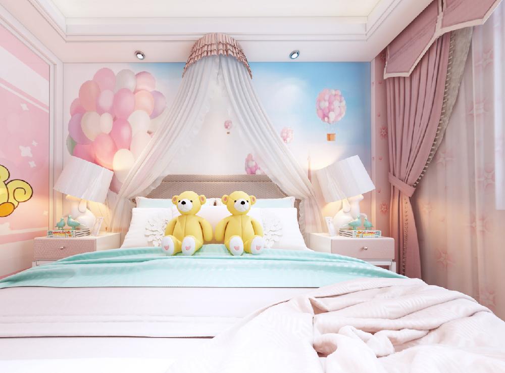 這套三居室也太好看了吧~好愛公主房17346047