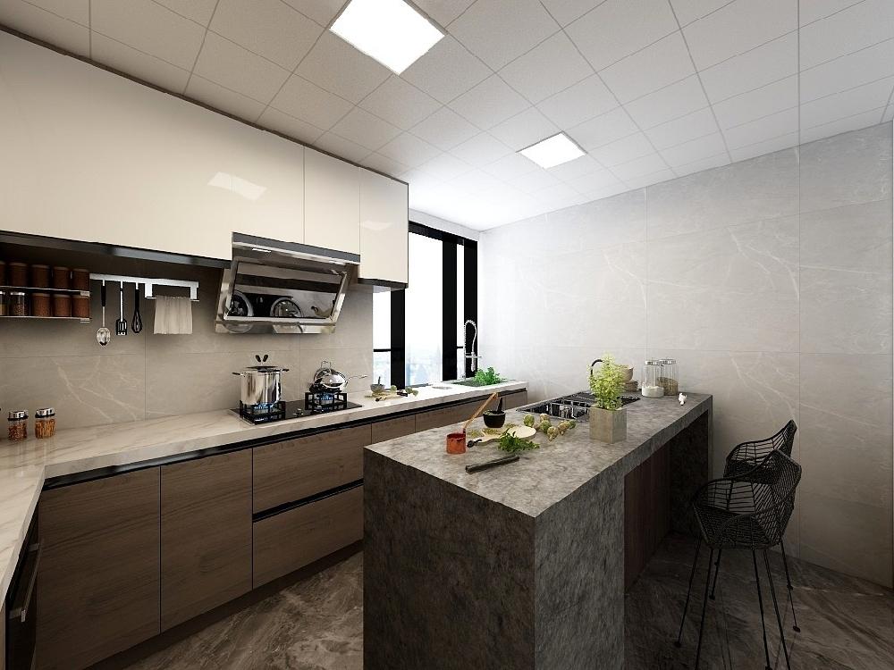 兩房單身公寓現代裝修案例17354405