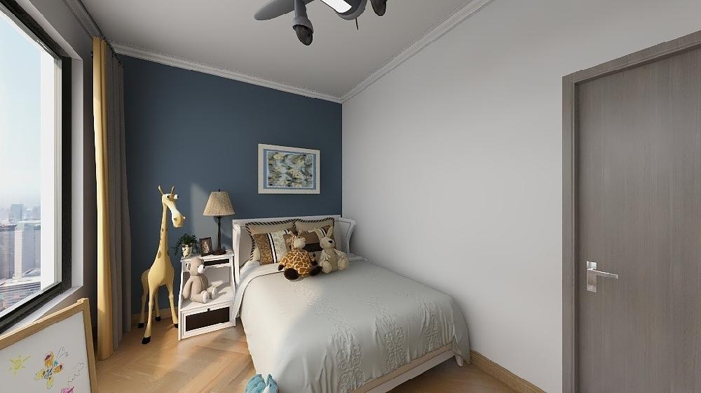 两房公寓北欧装修案例17354770