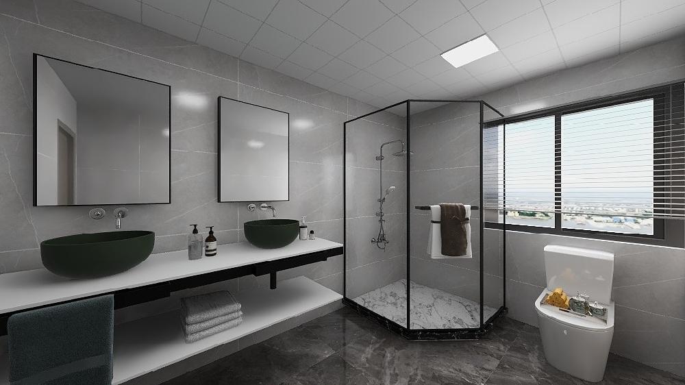 两房公寓北欧装修案例17354772