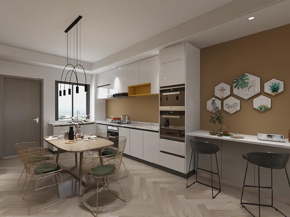 兩房單身公寓裝修案例17347845