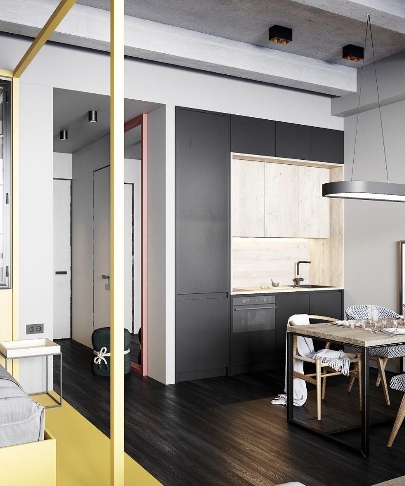 40㎡簡單舒適的單身公寓17363949