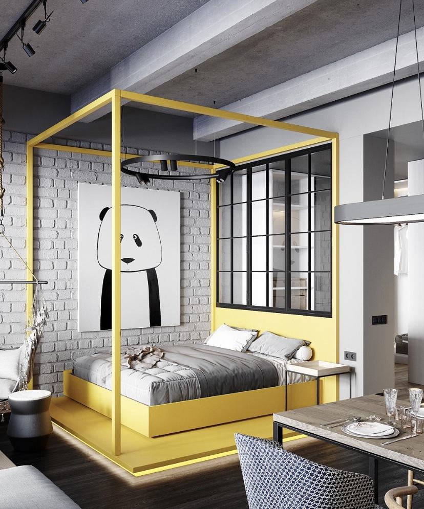 40㎡簡單舒適的單身公寓17363954