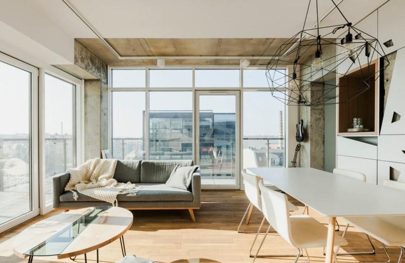 充满个性的公寓装修-现代风格17405336