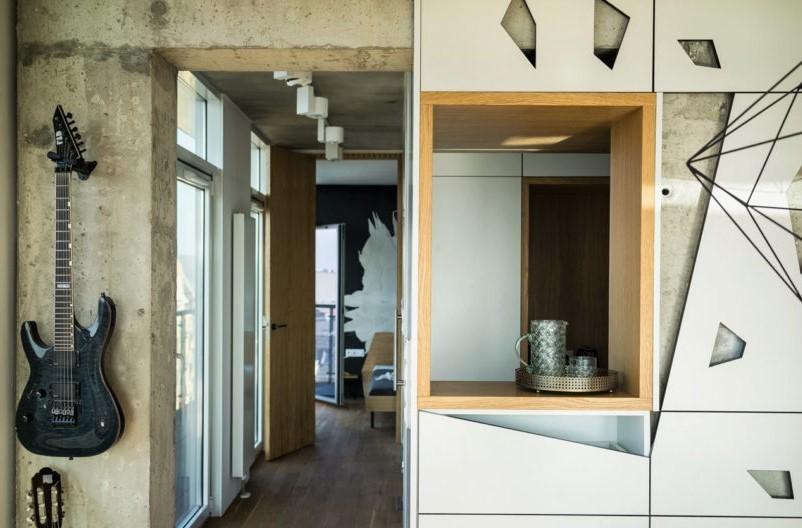 充满个性的公寓装修-现代风格17405339