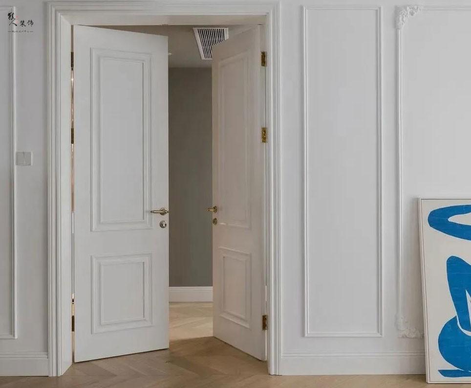 153㎡時髦輕法式風格兩室裝修17413485