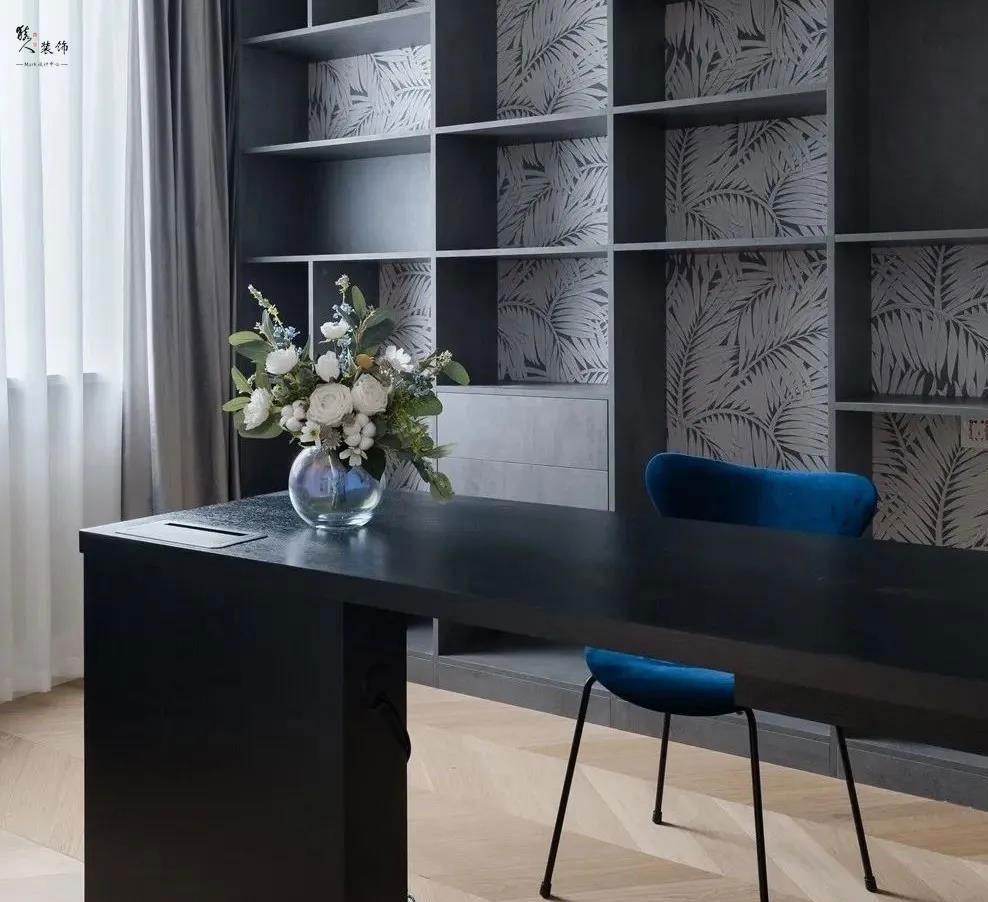 153㎡時髦輕法式風格兩室裝修17413497