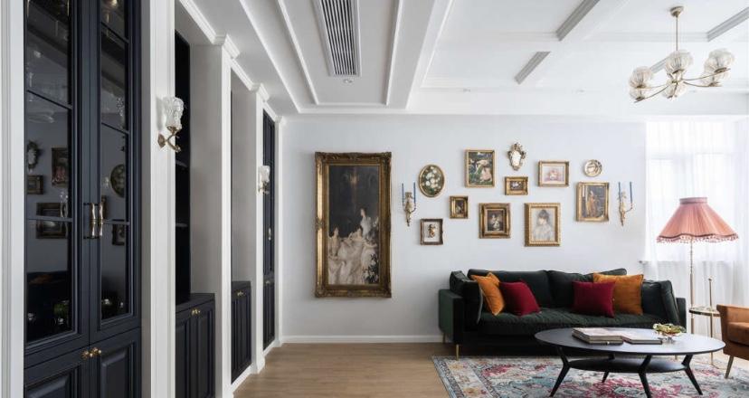 150平米法式风格,高端大气的家!17418212