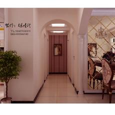 现代设计100平装修室内过道图片