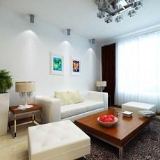 现代简约家装客厅效果图片