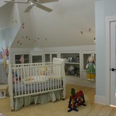 现代阁楼儿童房装修效果图