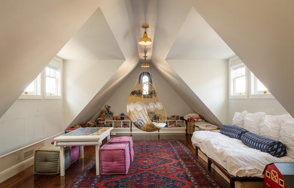现代风格小阁楼斜顶装修效果图