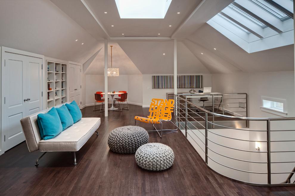 现代阁楼天窗装修效果图