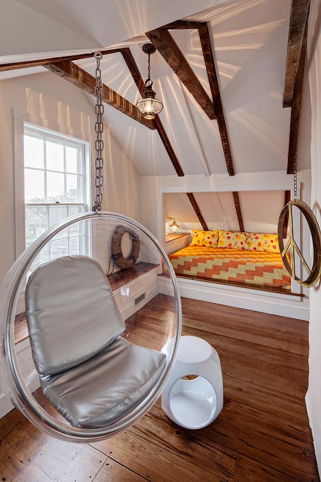 美式风阁楼卧室装修效果图