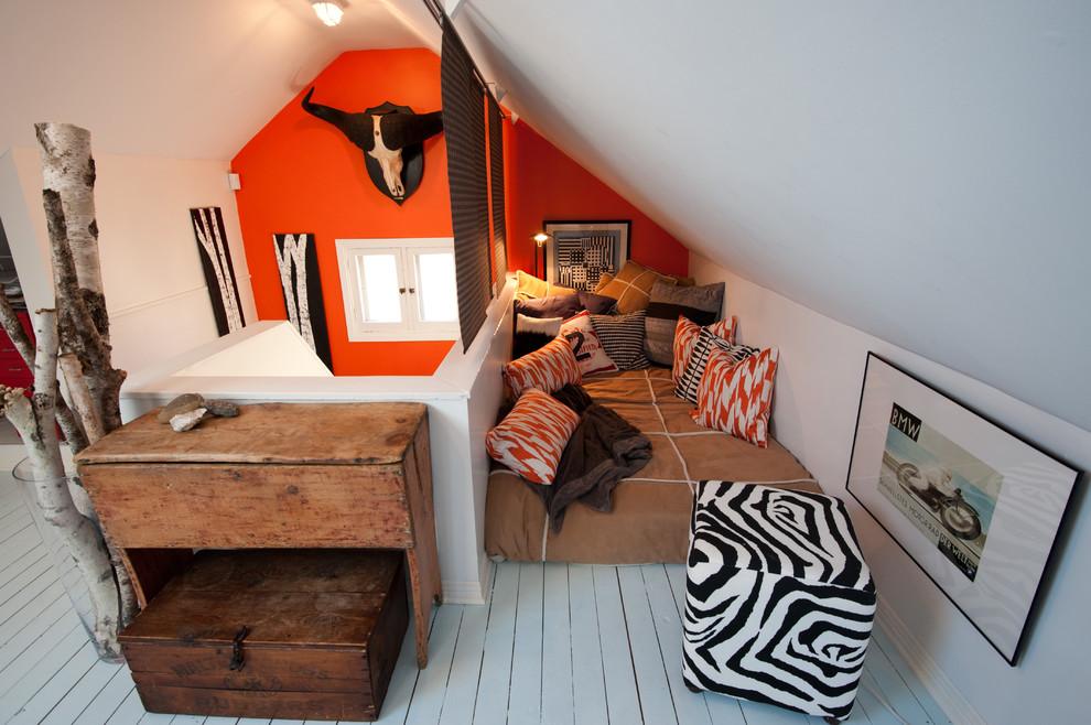 混搭阁楼卧室装修样板房图片