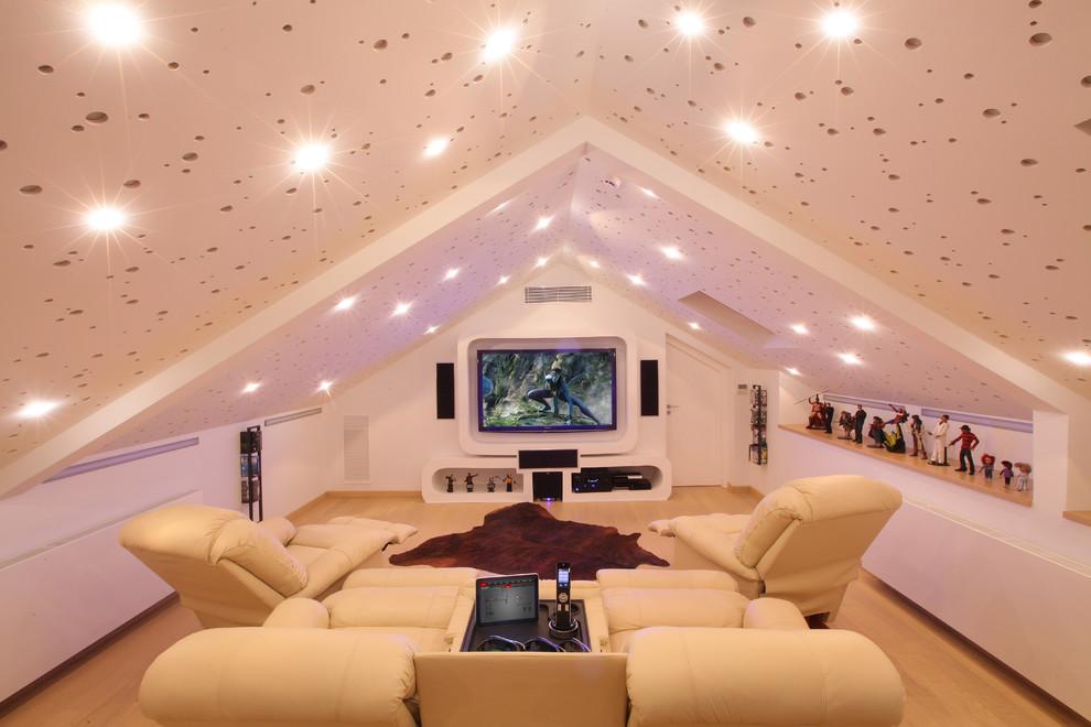现代风阁楼客厅设装修效果图