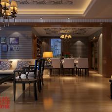 中式房屋卧室装修图欣赏
