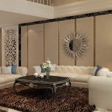 新古典风格客厅装修效果图片