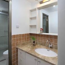 现代小卫生间装修效果图欣赏