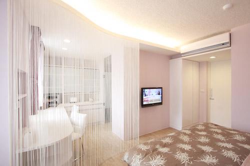 现代日式复合室内窗户设计效果图