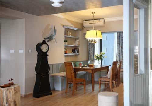 乡村田园风格餐厅设计室内装修图片
