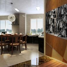 中式风格居家餐厅装修效果图