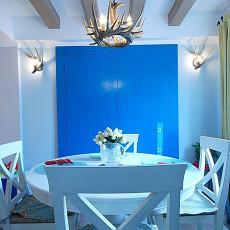 热门三居餐厅地中海装修设计效果图