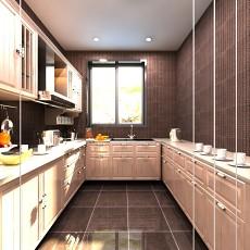 精选面积96平混搭三居厨房装修实景图