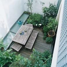 精选107平米三居阳台混搭效果图片