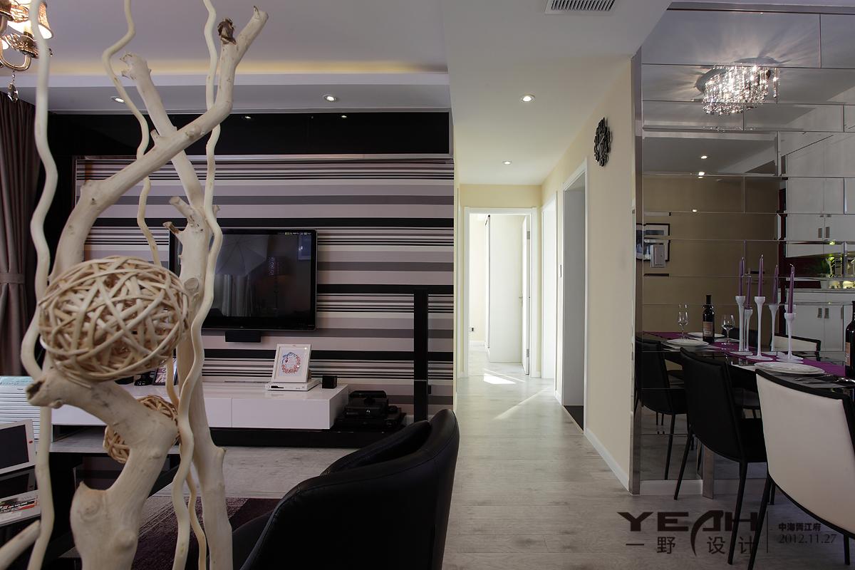 精美113平米四居客厅混搭装修欣赏图片大全