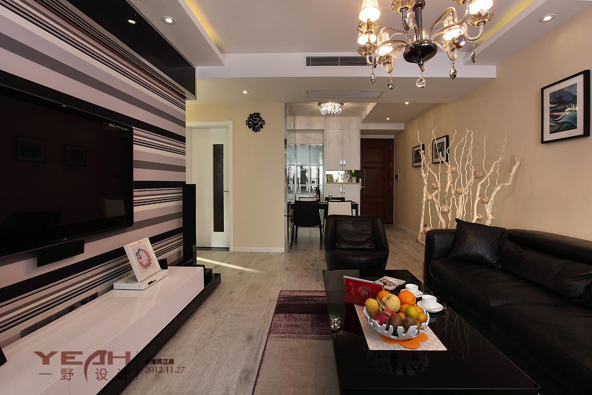 精选面积143平混搭四居客厅设计效果图