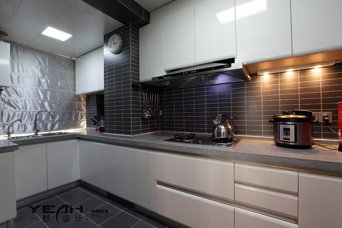 2018精选113平米四居厨房混搭装修欣赏图