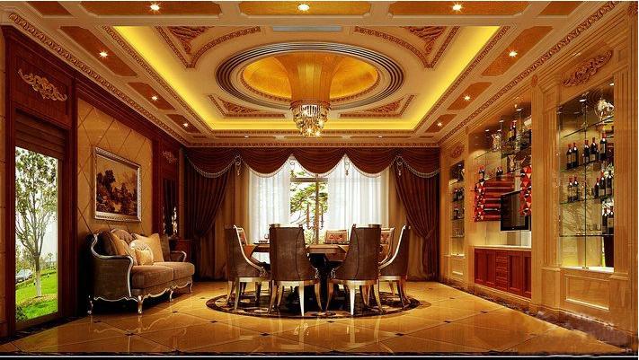 豪华古典欧式客厅装潢
